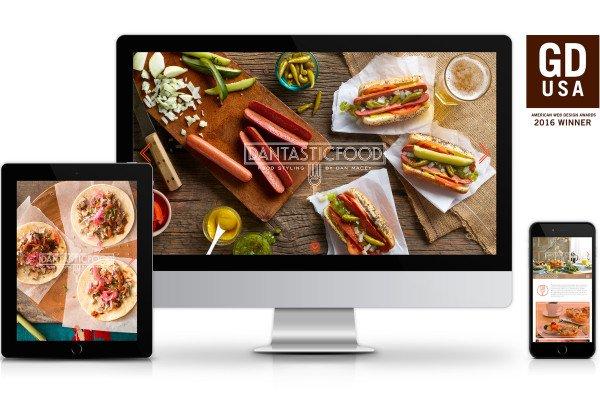 dantasticfood Website Design by Pixel Parlor studio