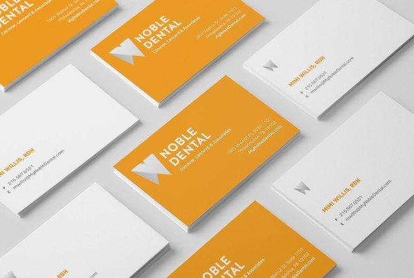 Noble Dental Business Cards