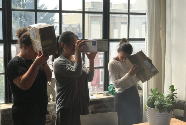 DIY Eclipse viewing boxes