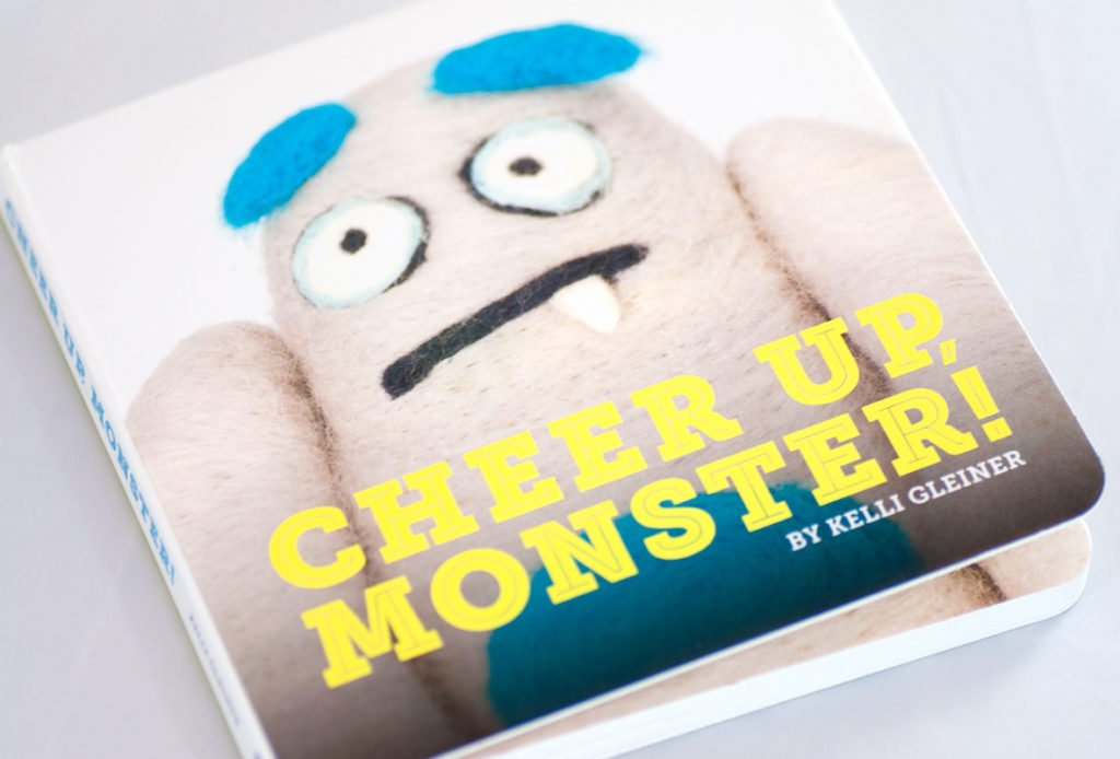 Cheer Up, Monster! book cover
