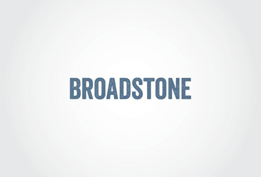 Broadstone logo design