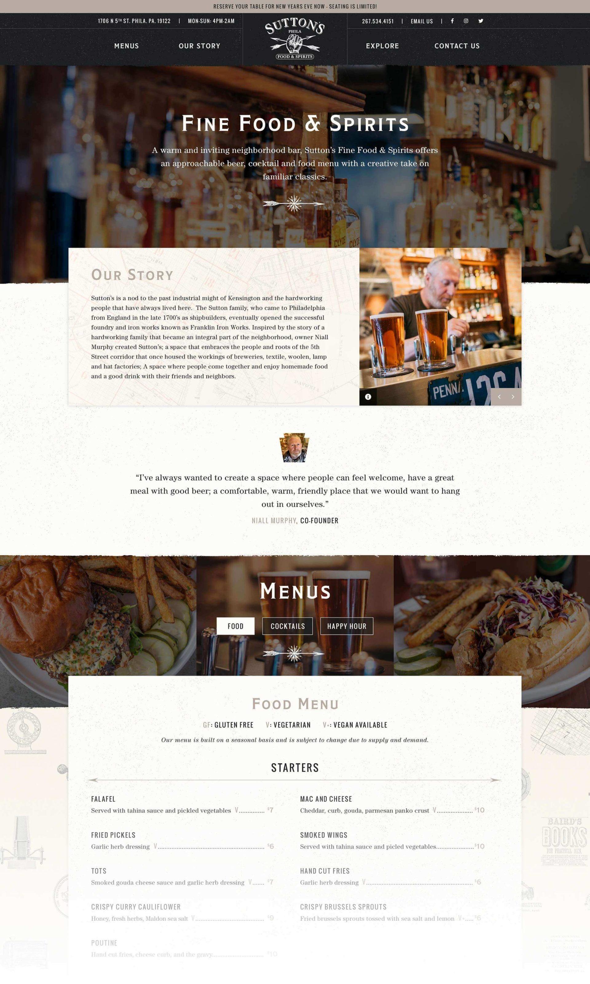 Sutton S Bar Restaurant Pixel Parlor